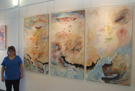 De beaux coins de la Gaspésie sous le regard de Céline Goudreau à la Galerie Vincent-d'Indy