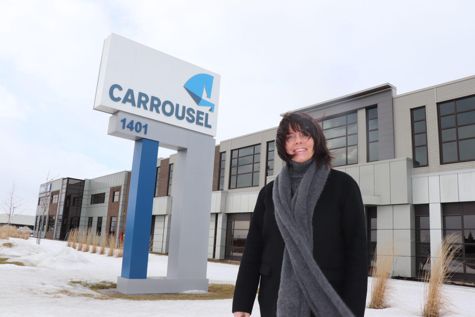 Elle est l'âme des Emballages Carrousel : Brigitte Jalbert reçoit le prix Florence Junca Adenot