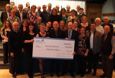 Le Centre des générations de Boucherville remet 301 000 $ à 23 organismes