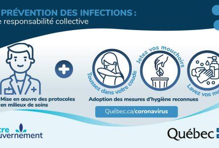 Coronavirus : code vert à Boucherville