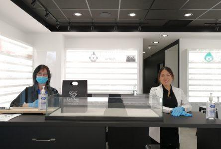 Une clinique temporaire pour les urgences oculaires pendant la pandémie de Covid-19