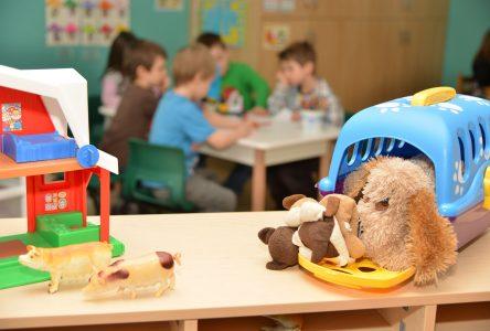 Pas de maternelle 4 ans à plein temps à Boucherville