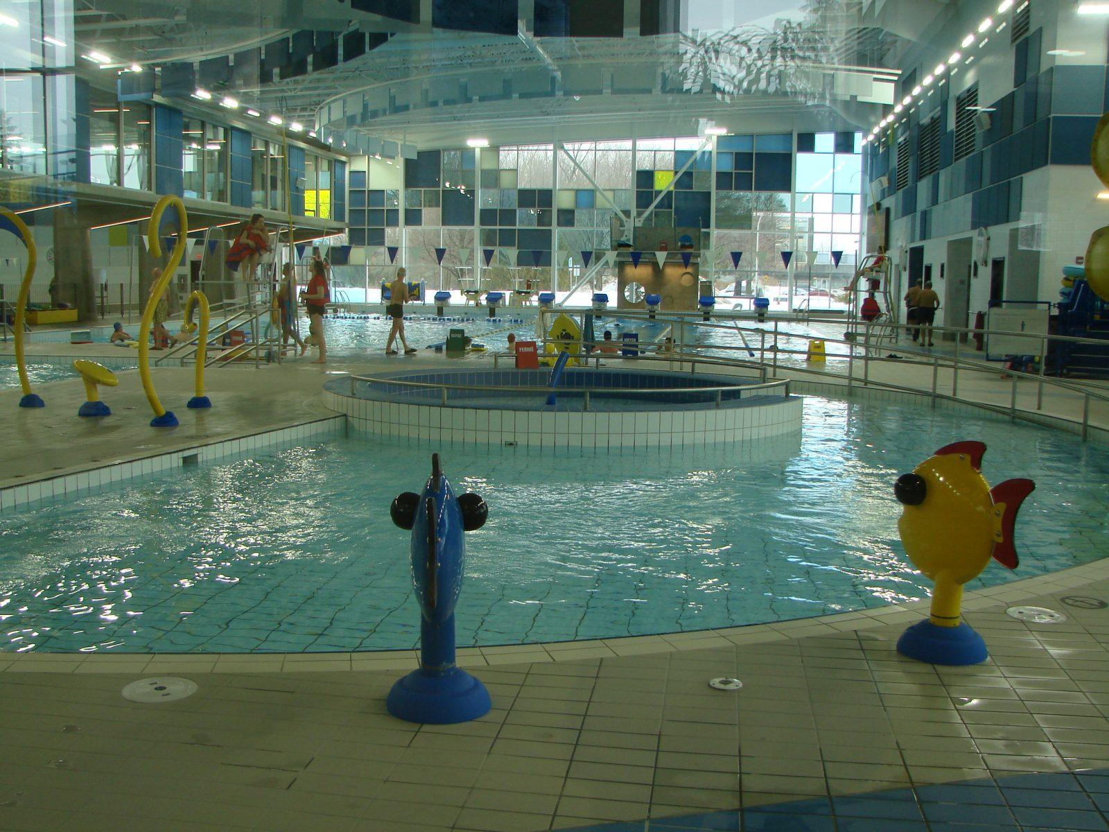 Le centre aquatique a débordé de baigneurs durant la relâche scolaire