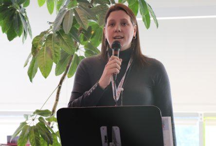 Christine Sparrow, une leader du milieu communautaire