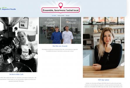 Lancement d'un microsite dédié à la promotion de l'achat local en ligne sur le territoire de la MRC!