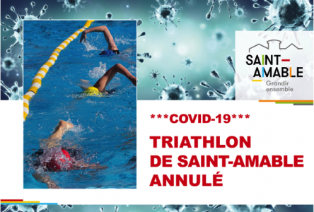 Annulation du triathlon de Saint-Amable