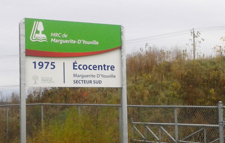 Réouverture progressive de l'Écocentre Marguerite-D'Youville