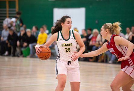 Basketball: Clara Bergeron récolte les honneurs à Saint-Jean-sur-Richelieu