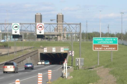 Réfection majeure du tunnel Louis-Hippolyte-La Fontaine : fermeture de fin de semaine d'une entrée et d'une sortie de l'autoroute 20 ouest