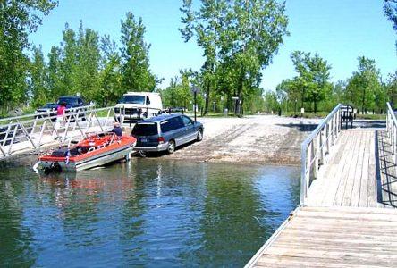 La rampe de mise à l'eau de la Plage municipale de Longueuil maintenant accessible aux Bouchervillois