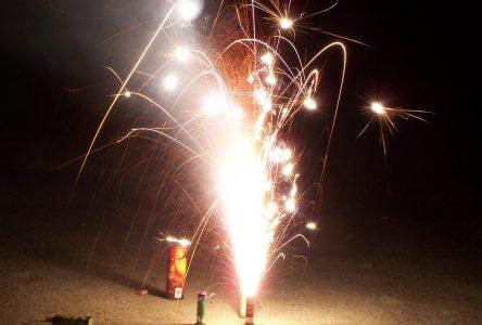 Règlementation stricte sur les feux d'artifice: la sécurité d'abord!