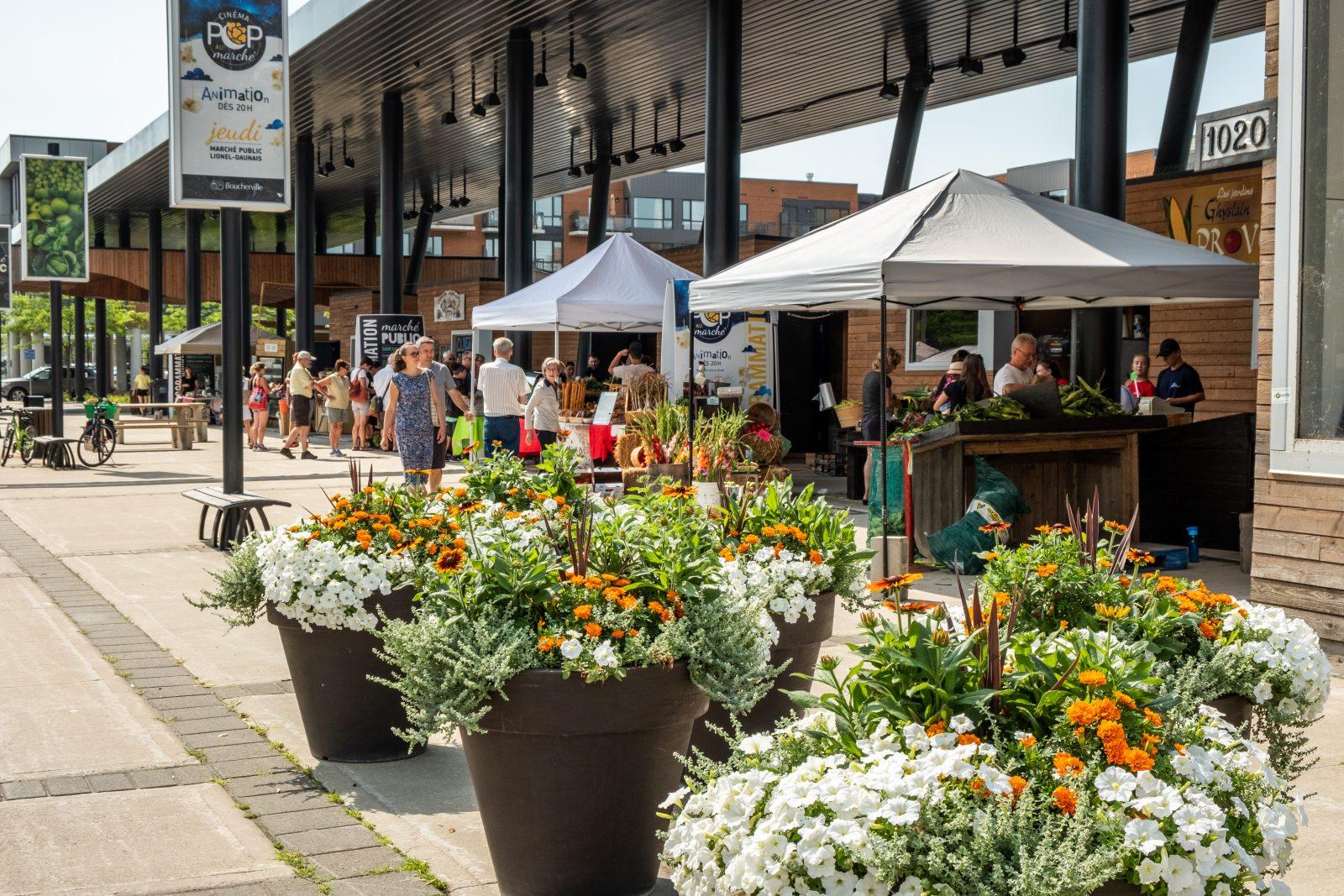 Les marchés publics de Boucherville sont de nouveau ouverts