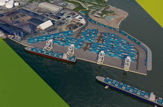 Le terminal de conteneur de Québec vient en concurrence avec celui de Contrecœur