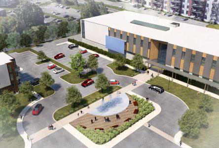 Le nouveau Centre multifonctionnel sera le plus grand projet public de l'histoire de Varennes
