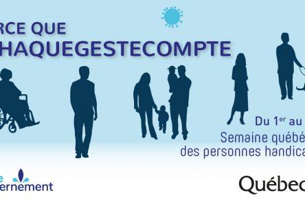 Semaine québécoise des personnes handicapées: rappel du programme Opération secours adapté à Varennes