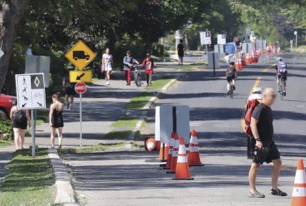 Piste multifonctionnelle pour piétons et cyclistes et fermeture de Marie-Victorin : Les travaux de réfection du boulevard mettent fin au projet pilote