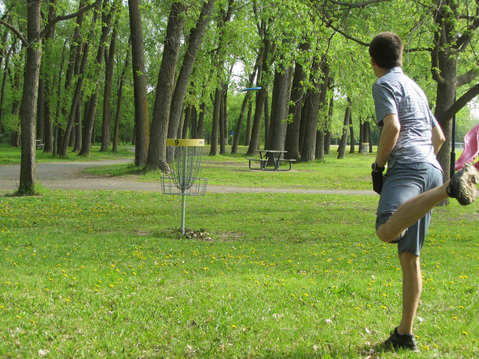 Le disque golf, un sport à découvrir