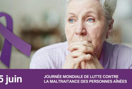 La violence envers les personnes âgées peut prendre plusieurs formes