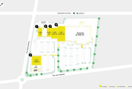 Un centre commercial s'installe à Contrecœur