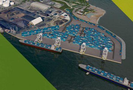 L'exécutif du comté de Verchères dénonce le projet de nouveau terminal de transit de conteneurs du Port de Québec