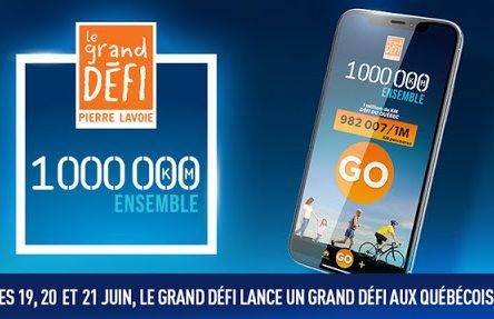 1 000 000 de KM Ensemble: Sainte-Julie invite les citoyens à joindre son équipe