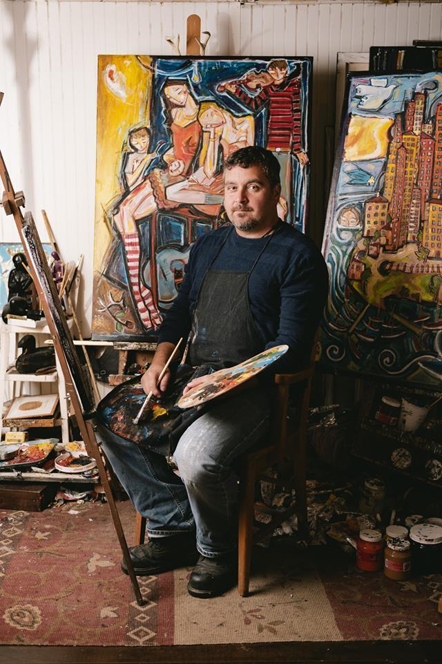 Artiste peintre confiné, mais productif : « Un printemps verdoyant », une exposition de Desson à voir au Cadre du Village