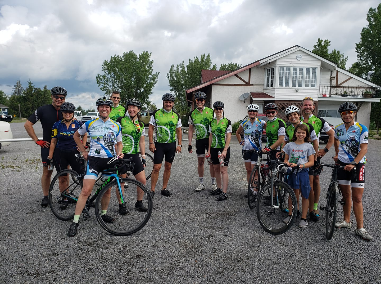 Le Défi-vélo virtuel Quatre Poches remporte un grand succès