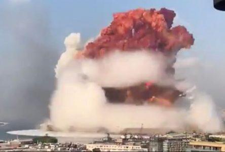 Explosion à Beyrouth: le Bloc québécois exprime sa solidarité
