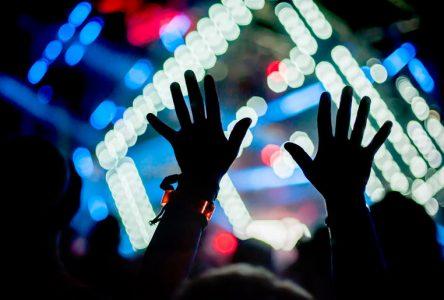 Levée de l'annulation des festivals et des événements