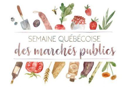Lancement en Montérégie de la Semaine québécoise des marchés publics