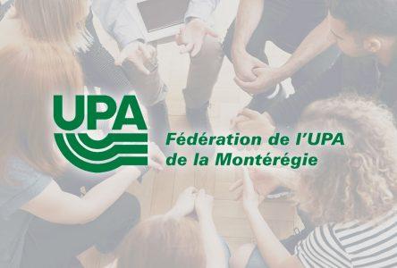 L'UPA de la Montérégie demande un engagement ferme afin de mieux protéger le garde-manger du Québec