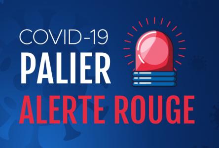 Alerte maximale : Sainte-Julie en zone rouge à compter du 1er octobre