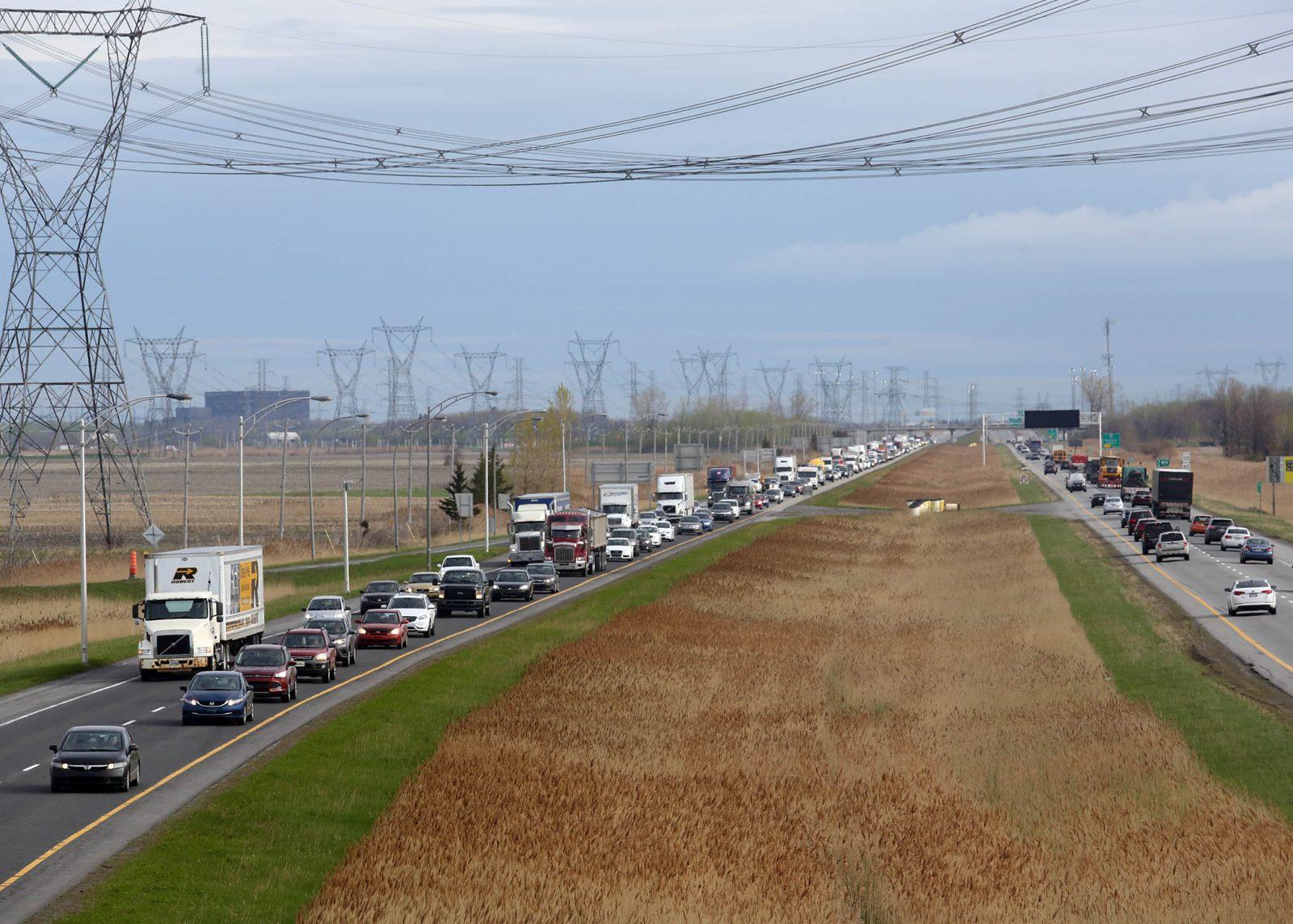 La MRC de Marguerite-D'Youville salue le projet de bonification de l'autoroute 30