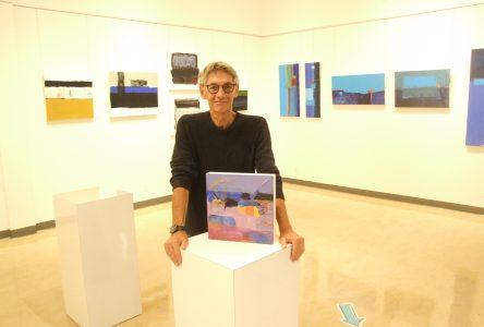 Claude Chartier présente l'exposition Occuper le territoire