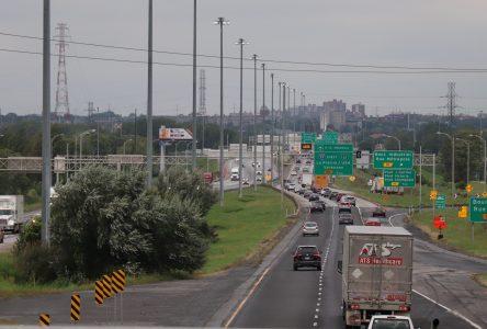 Les nouveaux corridors autoroutiers consacrés aux transports alternatifs passeront par Boucherville