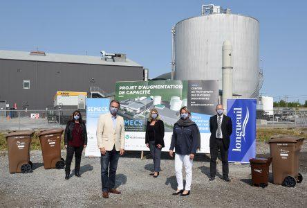 La capacité de traitement des matières organiques à Varennes sera plus que triplée