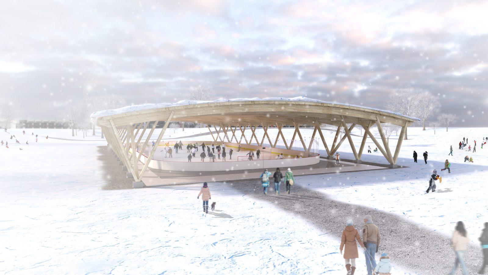 Un polydôme sera construit au coût de 6 M$ au parc du Pré-Vert à Varennes