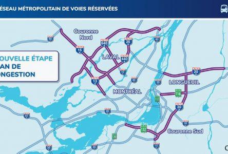 Premier appel d'offre pour le projet de Réseau métropolitain de voies réservées