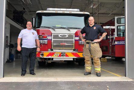 Des hommes d'exception se succèdent au Service sécurité incendie de Verchères