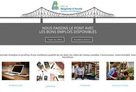 Un nouveau portail pour les offres locales d'emploi dans la MRC