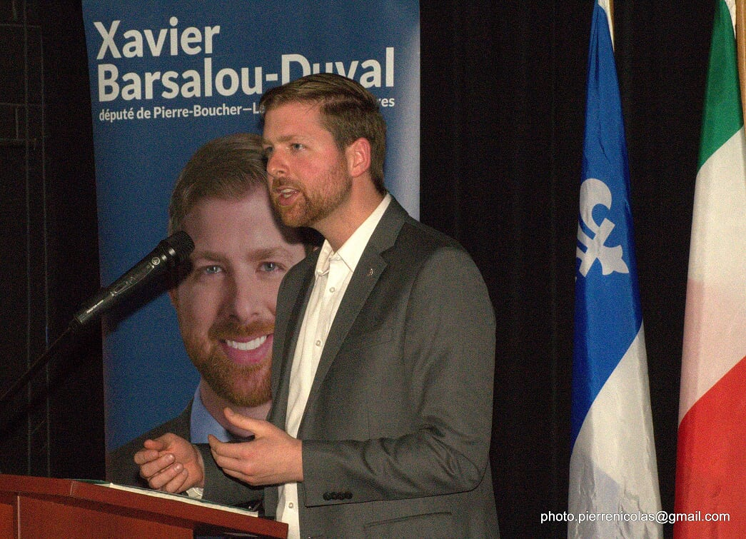 Xavier Barsalou-Duval dresse le bilan de ses cinq ans au service de la population