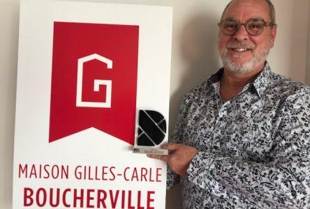 La Maison Gilles-Carle de Boucherville récipiendaire du trophée DEL Entreprise