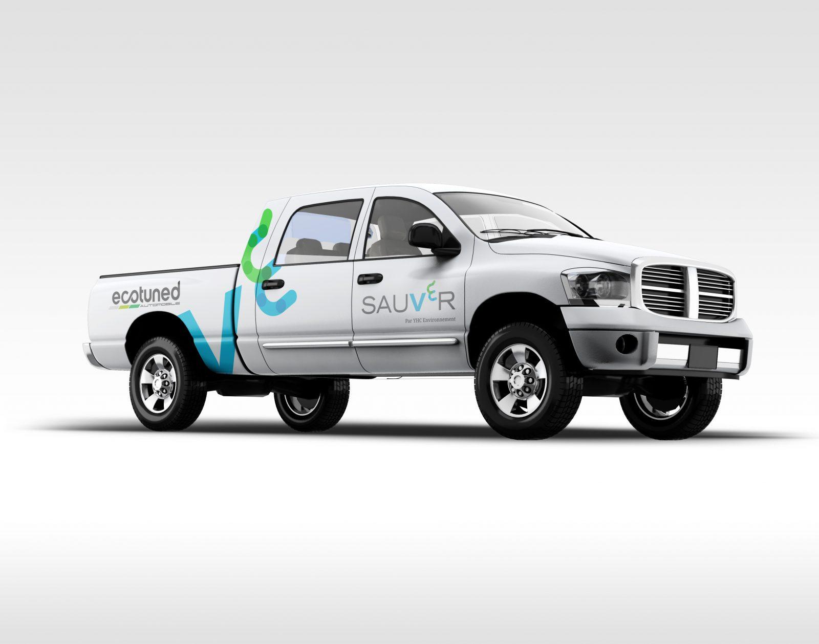 Quatre camions de la Ville de Varennes seront convertis 100 % électriques par l'entreprise locale Ecotuned