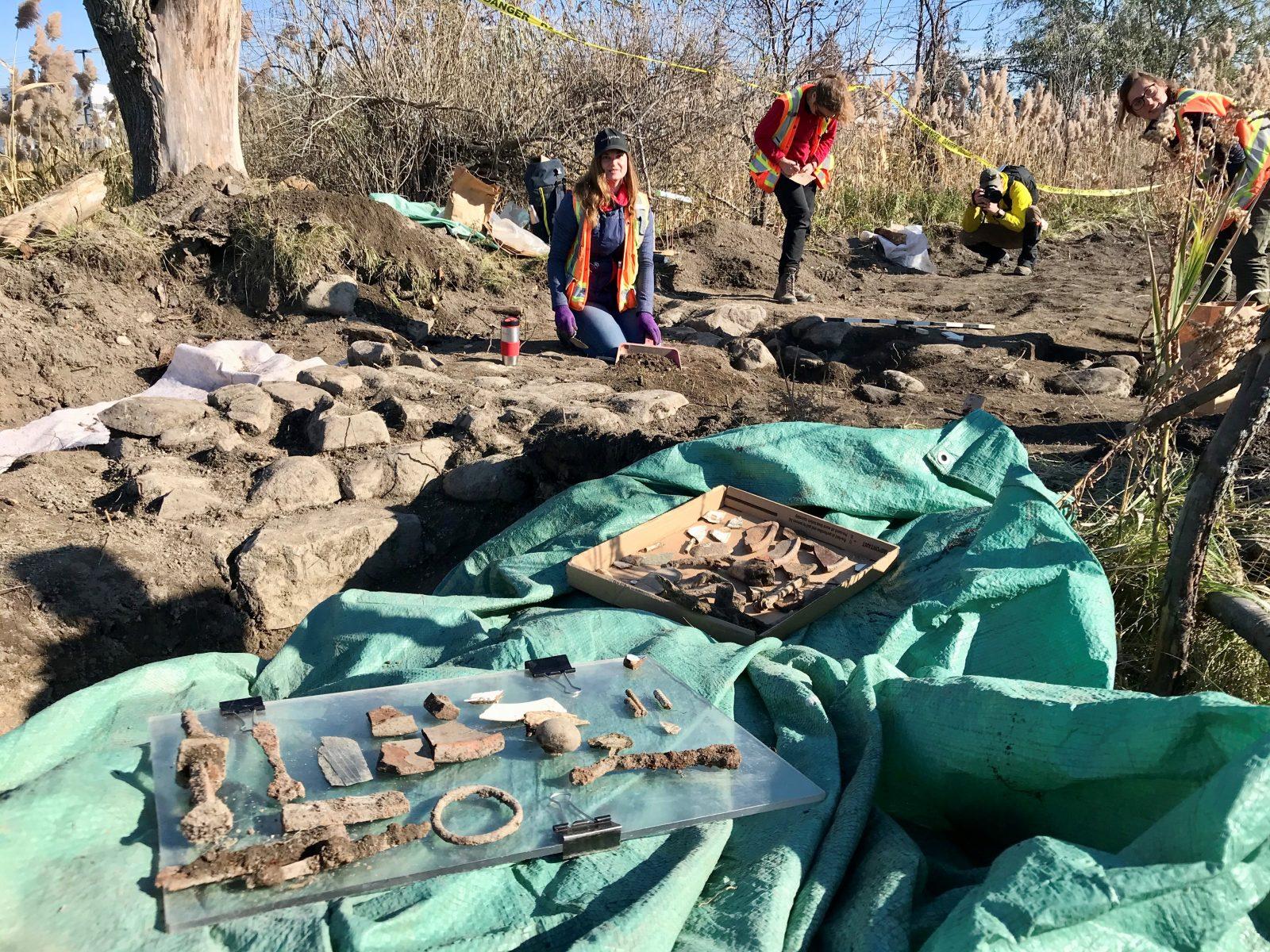 Découvertes archéologiques à Varennes