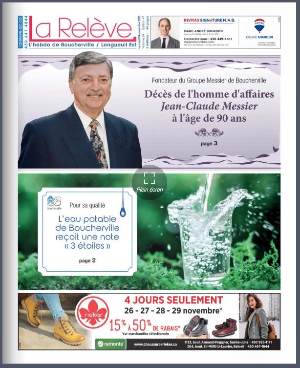 Boucherville - 24 novembre 2020