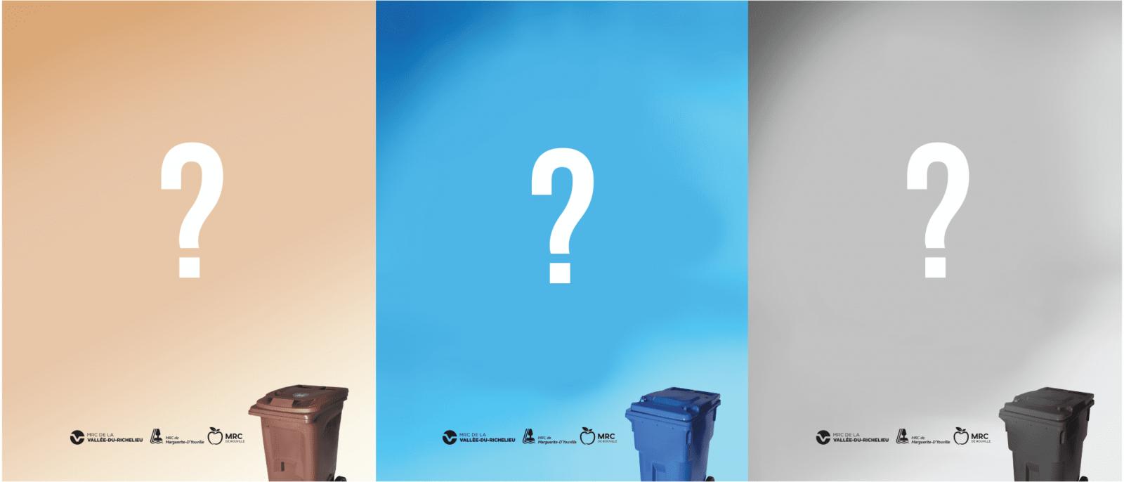 Trois MRC de la Montérégie s'unissent  pour lancer une nouvelle campagne régionale de sensibilisation
