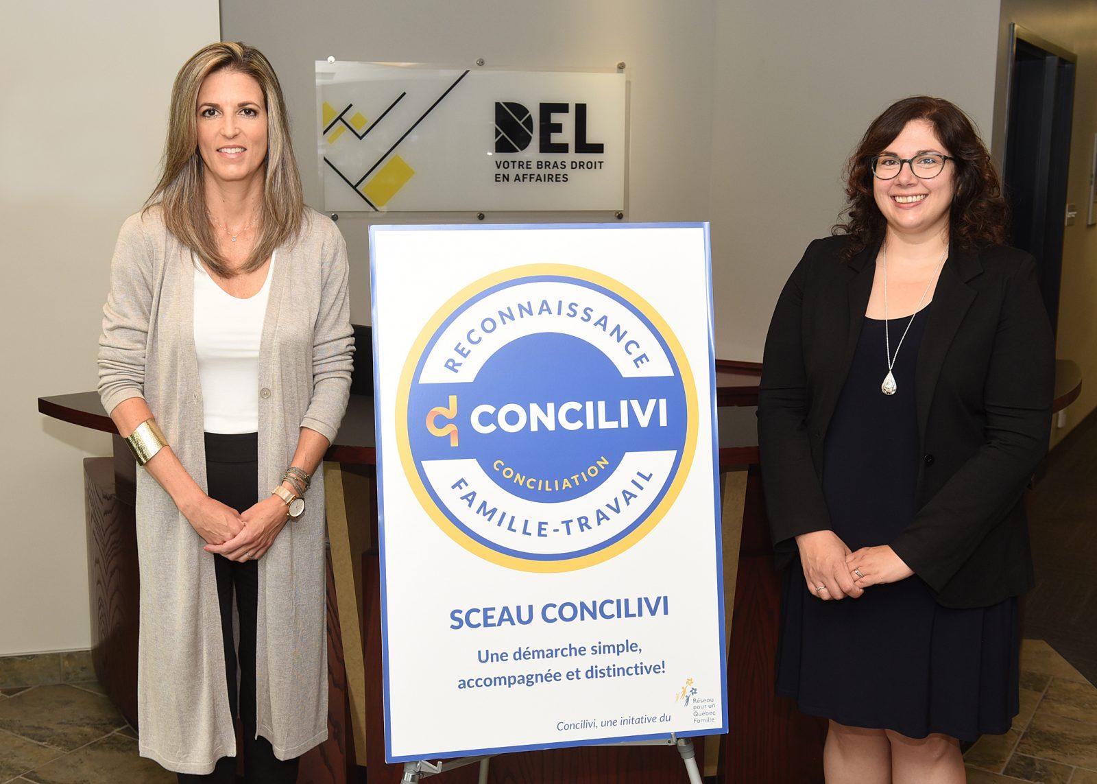 DEL reçoit un prix pour ses mesures de conciliation famille-travail