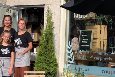 Propriétaire de l'épicerie Coup de Pousse à Boucherville: Nathalie Larocque, Mère en affaires de l'année du Québec