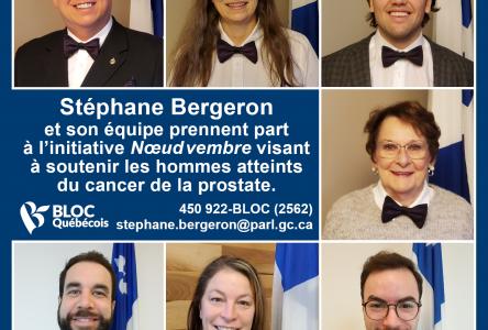 Le Nœudvembre: une initiative 100% québécoise pour lutter contre le cancer de la prostate