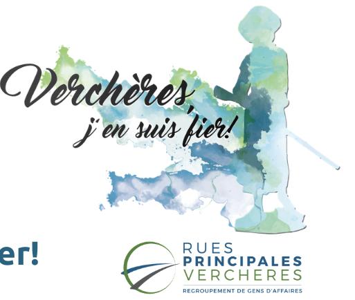 Cinquième édition de la promotion « Verchères, j'en suis fier! »